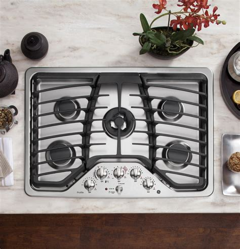Ge Monogram 30 Gas Cooktop pgp959setss ge profile series 30 quot built in gas cooktop