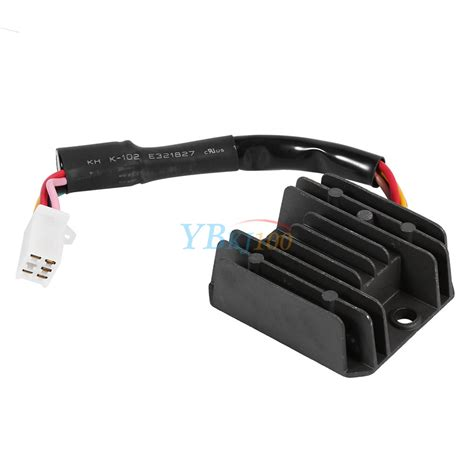 diode charger for motorcycle battery universal motorcycle voltage regulator rectifier 5 wire 5 pin 12v scooter atv ebay