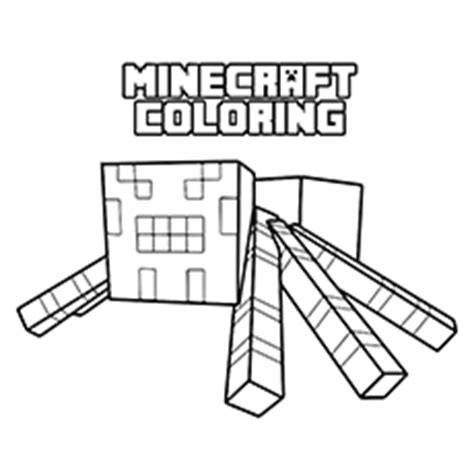 minecraft coloring pages cave spider minecraft diamond ore coloring pages coloring pages ideas