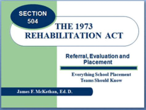 section 504 of public law 93 112 special education legislation graphic organizer timeline