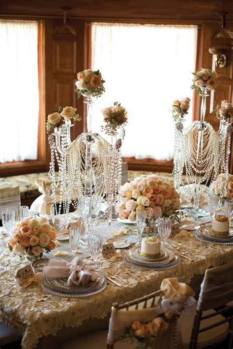 The Jazz Age: Great Gatsby Inspired Wedding Decor   Bridal