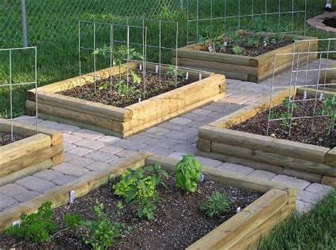 Using Landscape Timbers For Vegetable Garden Diy Landscaping Timbers