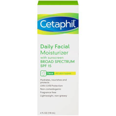 Cetaphil Moisturizer Spf 15 cetaphil daily moisturizer spf 15 4 fl oz 118 ml