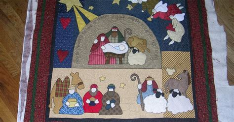 quilt pattern nativity village quilts nativity wall hanging