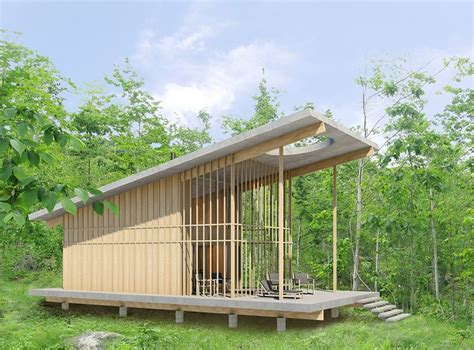 Cabins Berkshires by The Grid Micro Cabin Berkshires Ma Framework