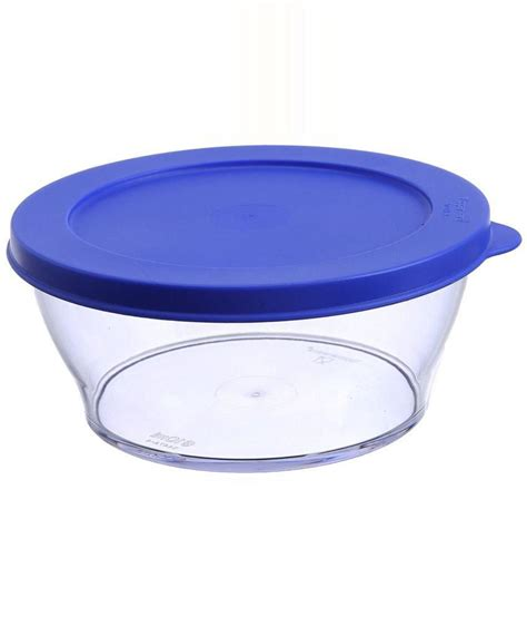 Tupperware Clear Bowl Set 2 tupperware blue clear clear price at flipkart snapdeal ebay tupperware blue clear