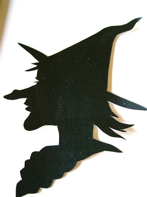 witch silhouette template elder witch silhouette via flickr silhouette cameo