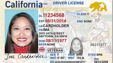 Local Id real id cards available in california come with