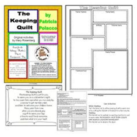 The Keeping Quilt Activities by 1000 Images About Polacco Books And Activities