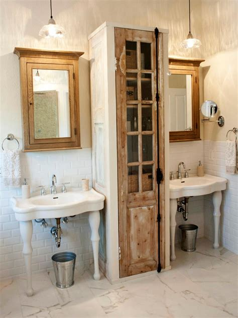 storage bathroom ideas creative bathroom storage ideas hgtv
