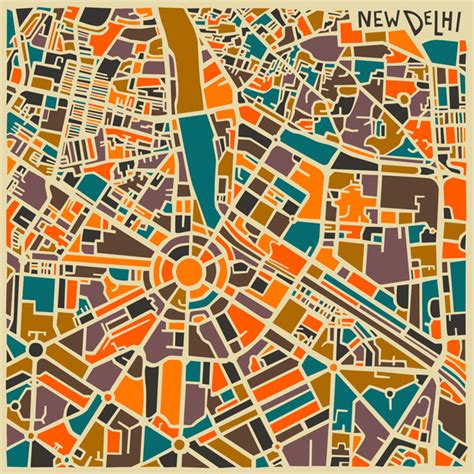 city map jazzy abstract maps of world cities