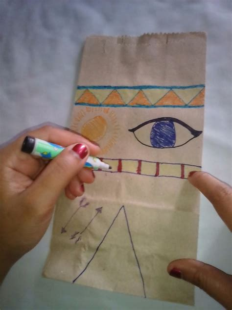 How To Make A Paper Tent - how to make a paper bag tent thriftyfun