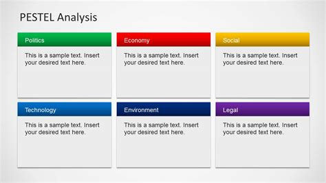 pestel analysis template word pestel analysis powerpoint template slidemodel