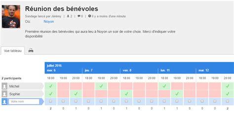 doodle poll with dates doodle pour planifier une r 233 union ou une soir 233 e