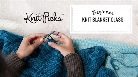 knitting classes knit beginner blanket class