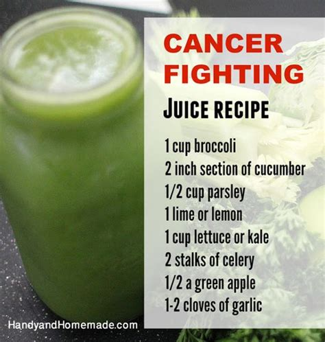 How To Detox Chemotherapy by Cancer Fighting Juice Recipe Beverages