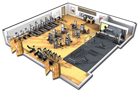 Church Floor Plan Designs by Corporate Fitness Center Design Edge Holistic Fitness