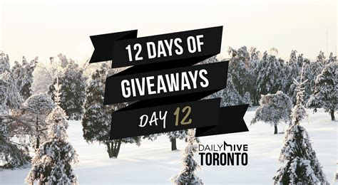 How To Get On 12 Days Of Giveaways Ellen De - 12 days of giveaways get in the golfing spirit this season daily hive toronto