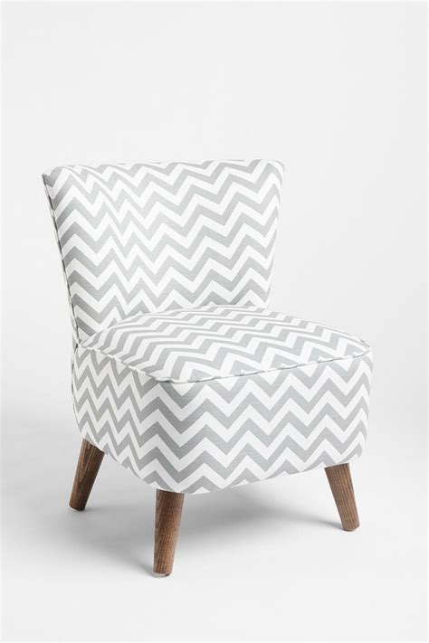 Grey Chevron Chair by I Simply This Chair And This Bright Blue Throw