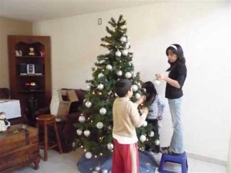 como poner un arbol de navidad youtube