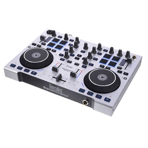 dj console hercules dj console rmx 2 dj controller at gear4music