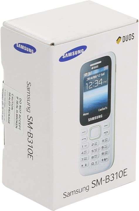 Samsung B310e Duos samsung sm b310e duos guru 2 white