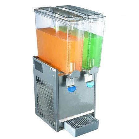 Juice Dispenser Tempat Juice 8 Liter 2x8l 2 tanks 3 8 c ce countertop cold beverage juice dispenser tt j34