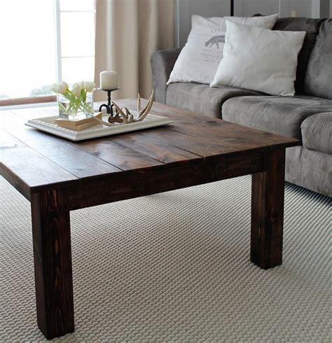 diy farmhouse coffee table diyideacenter