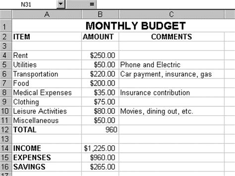 how to make a home budget plan house hold budget plans home round