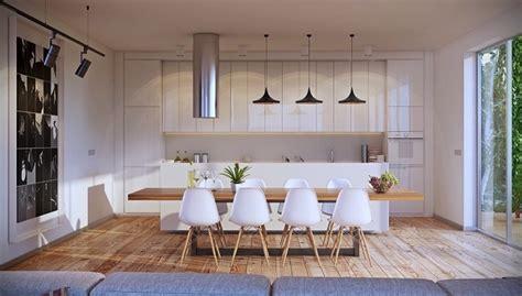 ideas  decorar el comedor en blanco  madera