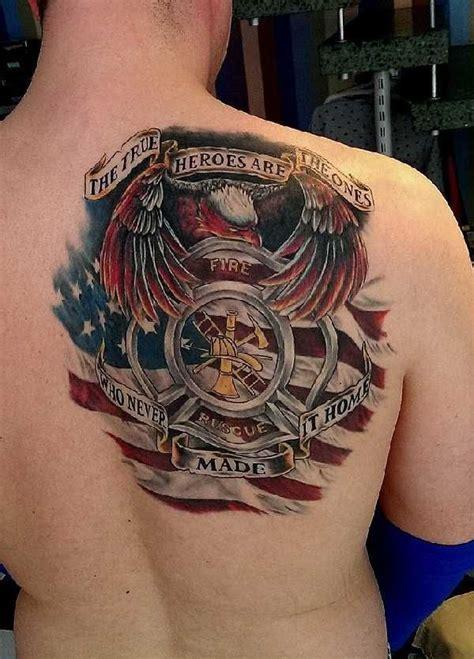 deja vu tattoo 17 grandiose firefighter tattoos ff