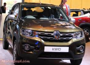 Renault One Renault Kwid 1 0 Litre To Be Launched On August 22 Car