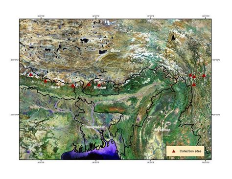 map missouri botanical garden studying climate change in the himalayas the missouri