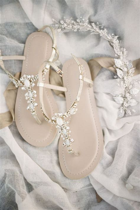 Bridal Sandals Flat by 25 Best Ideas About Bridal Sandals On Flat