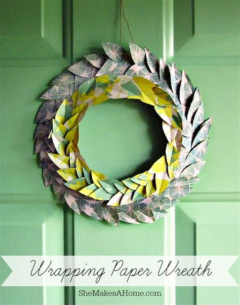 Wrapping Paper Craft Ideas - 10 genius ways to decorate with wrapping paper