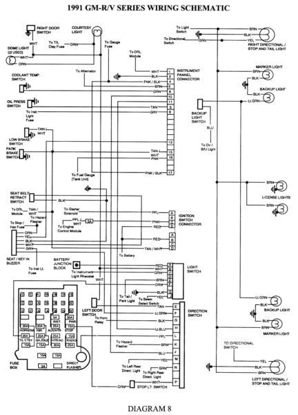 silverado headlight wiring diagram