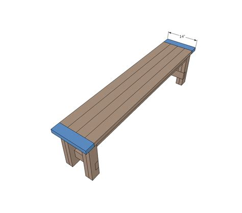 House Plans With Estimated Cost To Build Ana White Farmhouse Bench Diy Projects