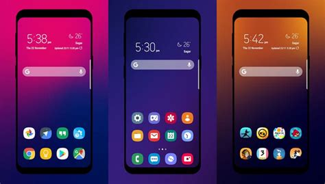 Samsung One Ui One Ui Icon Pack Inspired By Samsung One Ui 9 0 Droidviews