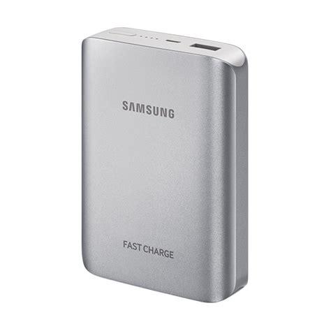Baterai Power Bank Samsung jual samsung battery pack powerbank silver 10200 mah