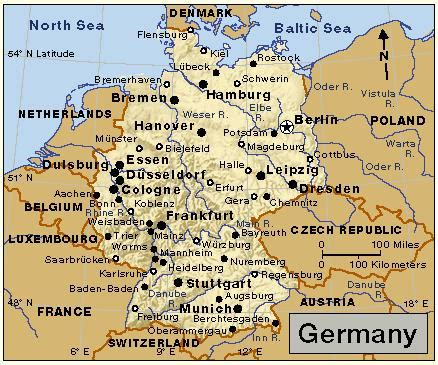map of east and west germany with cities map of east and west germany with cities map travel maps