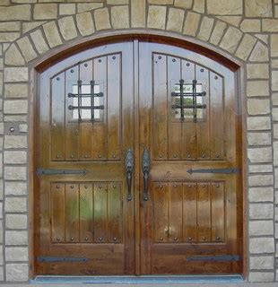 Knotty Alder Arched Double Door Entry Traditional Exterior Doors Minneapolis