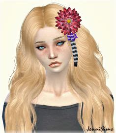 flowers bow headband at jenni sims 187 sims 4 updates flowers bow headband at jenni sims sims 4 updates the