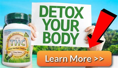 Do 7 Day Detox Kits Work For Thc by Detox Pills To Pass A Test For Fast Marijuana