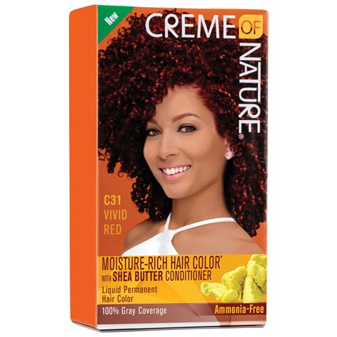 creme of nature hair color creme of nature moisture rich hair color