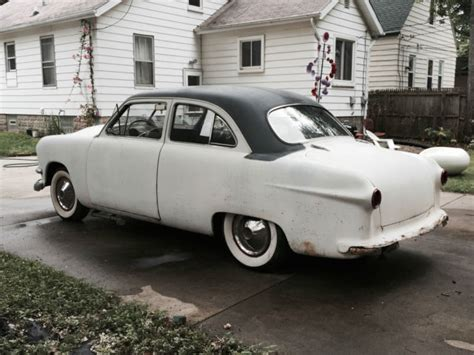 barnfind custom 1950 ford rod shoebox classic ford