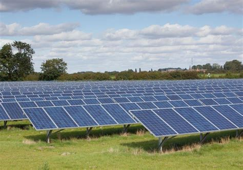 Renewable Energy Boom For Uk Farmers by The Potential Ecological Impacts Of Ground Mounted