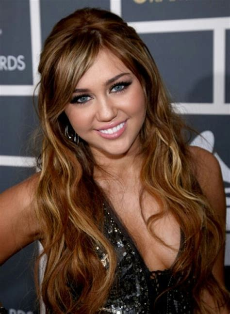 miley cyrus hair lol light brown highlighted hair pinterest her hair
