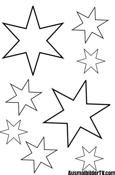 Fensterdeko Für Weihnachten Basteln by Sterne Zum Ausmalen Basteln
