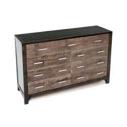 graphite 9 drawer dresser green gables