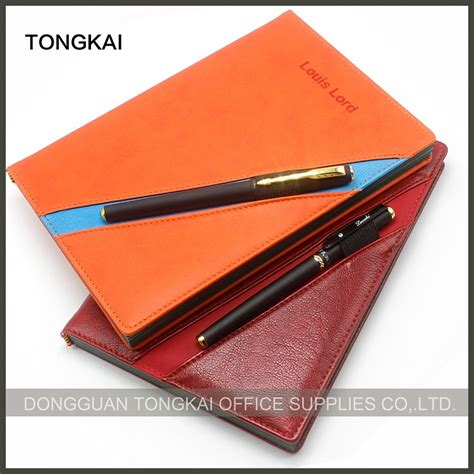 Top Quality Notebooks Other Promotional Paper Products - cheap paper notebooks leather diary cover custom journal
